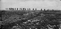 WWI: 18 Oct 1918, 32nd Division on the march to the Argonne Forest.