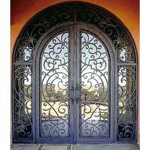 Forged Iron Door - www.irondoor.cn