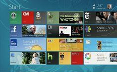 Microsoft revela imagens das primeiras versões da interface do Windows 8