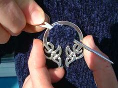 How to apply a cloak pin