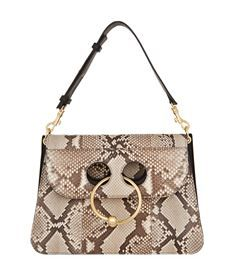 JW Anderson SS17 Pierce Python Shoulder Bag