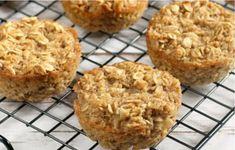 Recette facile de muffins à l'avoine!