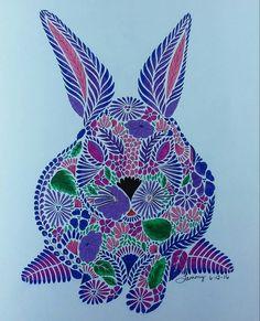 Millie Marotta Animal Kingdom Colored By Tammy Beard 06 12 2016