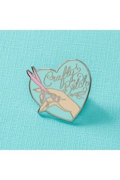 Punky Pins Crafty Bitch