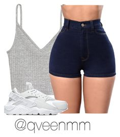 """""""Untitled #409"""" by qveenmm on Polyvore featuring NIKE"""