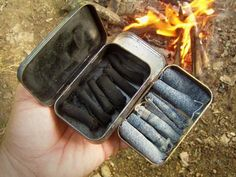 Making Charcloth // Great fire starter