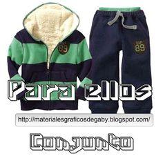 Materiales gráficos Gaby: Costura fácil : Conjunto deportivo para varones co...