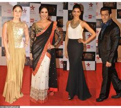 Pics: Kareena Kapoor, Salman Khan, Sunny Leone, Deepika grace Big Star Entertainment Awards  http://daily.bhaskar.com/article-hf/ENT-kareena-kapoor-salman-khan-sunny-leone-deepika-grace-big-star-awards-4468935-PHO.html