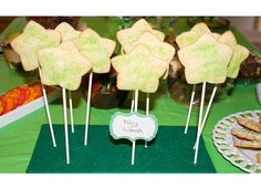 Tinkerbell Party Theme - Fairy Sugar Cookie Wands