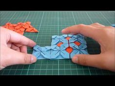 Origami How-to: Assembling a placemat More