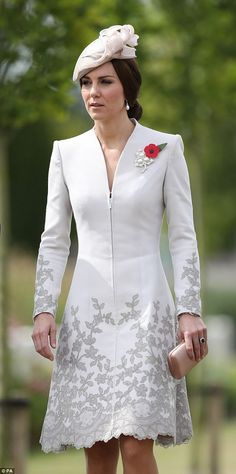Catherine Duchess of Cambridge visits the Tyne Cot Cemetery outside Ypres Belgium. The ceremony marked the centenary of the Battle of Passchendaele. July 31 2017