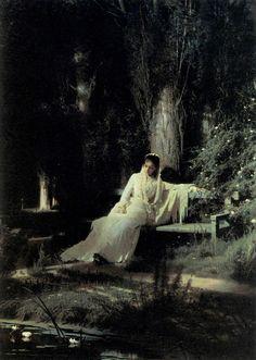 Ivan Nikolaevich Kramskoy - Moonlit Night