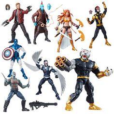 We showed you the individual and packaged photos of the new 2017 Marvel Legends Guardians of the Galaxy wave last month, and now they are available for pre-order! The case assortments can be seen in the images above. Entertainment Earth says the figureswill ship in March 2017, and the Amazon listings say they will ship …