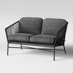 Standish Patio Loveseat - Gray - Project 62™ : Target