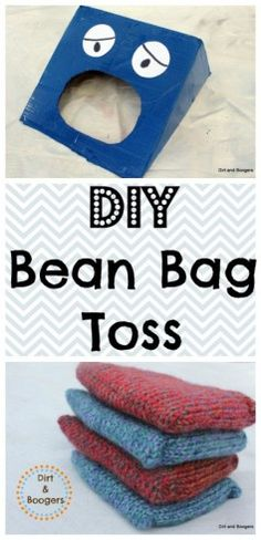 Homemade Toys: Bean Bag Toss