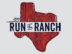 Logo design I did for a Mud Run here in the Dallas area. You can view the site we did at runtheranchtx.com  Texas . Hand Drawn . Illustration . Typography