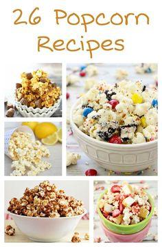 Oreo Popcorn, Spicy Popcorn, Peanut Butter Popcorn, White Chocolate Popcorn, Sweet Popcorn, Popcorn Snacks, Dark Chocolate Cakes, Chocolate Blanco, Popcorn Recipes