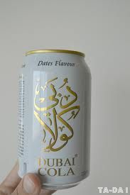 Dubai Cola- dates flavor?!! I don't even drink sodas but have got to try this!!