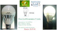 Línea económica focos LED