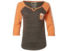 Tennessee Volunteers NCAA Women's Deja 3/4 Raglan T-Shirt