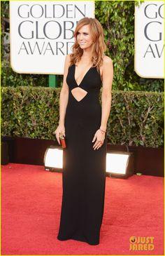 Kristen Wiig Does Taylor Swift's Shocked Face at Golden Globes 2013