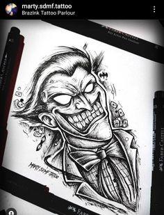 Comic Tattoo, Batman Tattoo, Alien Tattoo, Medusa Tattoo Design, Tattoo Design Drawings, Tattoo Sketches, Anime Tattoos, Body Art Tattoos, Sleeve Tattoos