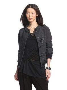 56% OFF L.A.M.B. Women's Rubber Printed Jacket
