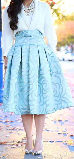 #Full On Rosette by KTRstyle  - You need perfect legs for this gorgeous skirt. Love it! ( MP)