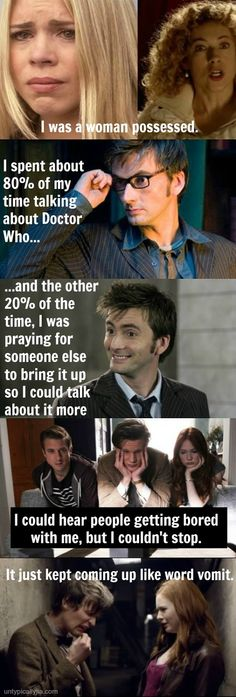 I've Pretty Much Just Been Watching Doctor Who. This has been my life for the past few months. #MeanGirls and #DoctorWho FTW!