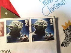 yoda stamp 切手