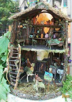 Fairy house  :) love it