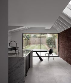 Sinter House is a minimal home located in London, United Kingdom, designed by Trewhela Williams. The project is an extension to an existing Edwardian house constructed mainly in brick.