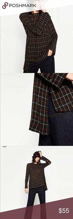 NWT Zara shirt top tee jacket coat blazer tunic S NWT tunic,original price 69$ Zara Tops Tunics