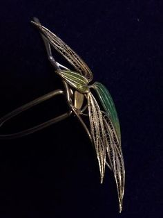 Bambook cloisonne hairpin