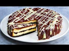 Tenhle dezert si nemůžete nechat ujít! Recept na cheesecake s čokoládou a citronem!  Chutný TV - YouTube Biscuits Au Cacao, Cake Pops, Tofu, Tiramisu, Ethnic Recipes, Cocoa Cookies, Pastries, Sweets, Chocolate