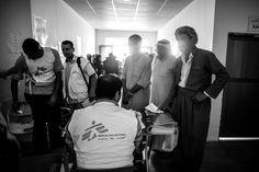 Durante los últimos años, la violencia en Irak ha provocado que más de 3,3 millones de iraquís estén desplazados dentro de su propio país. Robert Onus, coordinador de terreno del proyecto de MSF en Abu Ghraib, cerca de Bagdad, nos describe la situación a la que se enfrenta la población de Irak y habla del proyecto de MSF para cubrir las necesidades médicas de la población desplazada en el distrito Abu Ghraib.