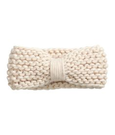 Knit Headband | Product Detail | H&M