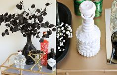 A Simple Halloween DIY to Spook Up Your Home #theeverygirl http://www.pinterest.com/meganrice5/holidays-halloween-thanksgiving/