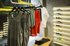 Stride Running. Store & Brand Design by Rosie Lee for A3 Sport, Moscow – Russia » Retail Design Blog