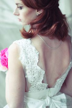 Etsy の Wedding dress // Brianne // 2 pieces by CarouselFashion