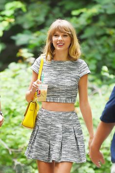 taylor swift crop top | Timeline of Taylor Swift's Love of Crop Tops