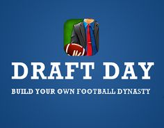 """Check out new work on my @Behance portfolio: """"Draft Day"""" http://be.net/gallery/32082159/Draft-Day"""