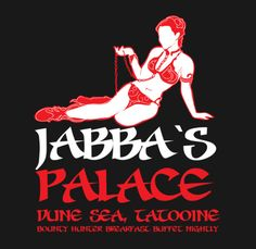 Shop Jabba`s Gentleman`s Club princess leia t-shirts designed by kentcribbs as well as other princess leia merchandise at TeePublic. Star Wars Film, Star Wars Art, Star Trek, Star Wars Stencil, Jabba's Palace, Han And Leia, Star Wars Love, Gentlemans Club, The Force Is Strong