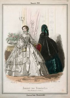 journal des demoiselles | In the Swan's Shadow: Journal des Demoiselles, March 1858. Civil War ...