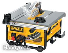 Our team of experts reviews seven portable table saws that are ideal for DIY home use.
