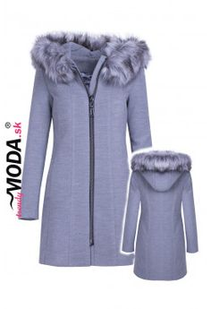 Kabát s kapucňou KS02 Fur Coat, Jackets, Fashion, Down Jackets, Moda, Fur Coats, Jacket, Fasion, Trendy Fashion