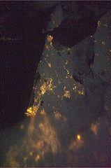 Noord-Holland vanuit de ruimte