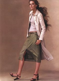 image Carmen Kass, Stella Tennant, Vogue Us, Mario Testino, Steven Meisel, Gisele Bundchen, Cover Model, Best Model, Fashion Models