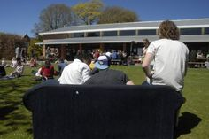 Students on the Sunken Lawn after Semester Two exams by Lincoln University NZ, via Flickr