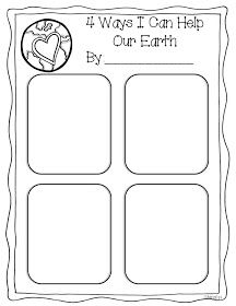 Miss Kindergarten: Earth Day! We used these for our Caring for our Environment badge.
